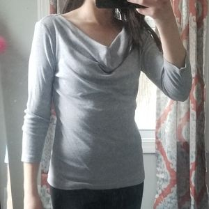 Size S Gray Philosophy Shirt